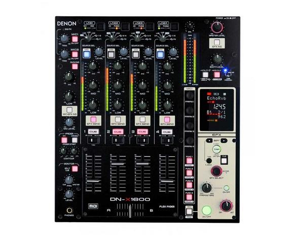 denon+dnx1600+dj+controller