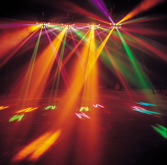 dj+a+wedding+lights