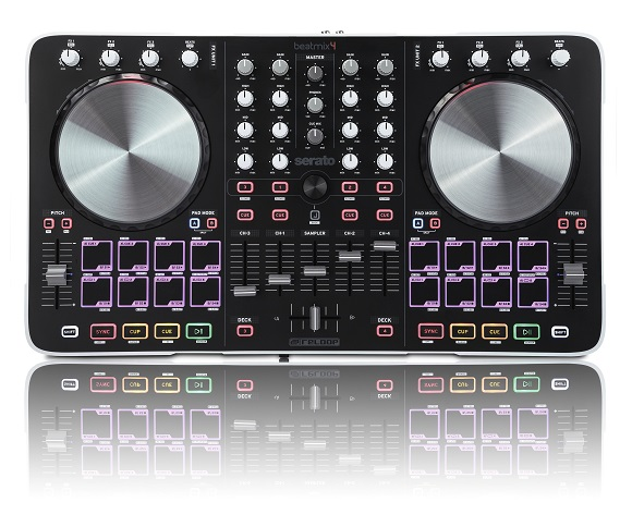 smush dj+controller+review+beatmix+4 DJ Equipment Review: Reloop Beatmix 4 Controller