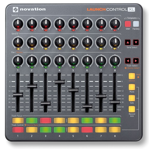 smush dj+equipment+review+launch+control+xl DJ Controller Review: Novation Launch Control XL