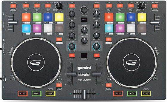 DJ equipment review Gemini Slate 2