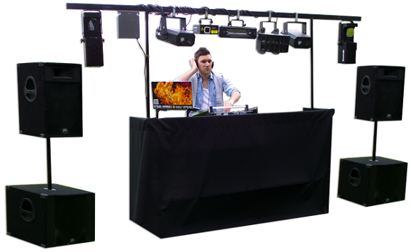 mobile dj equipment